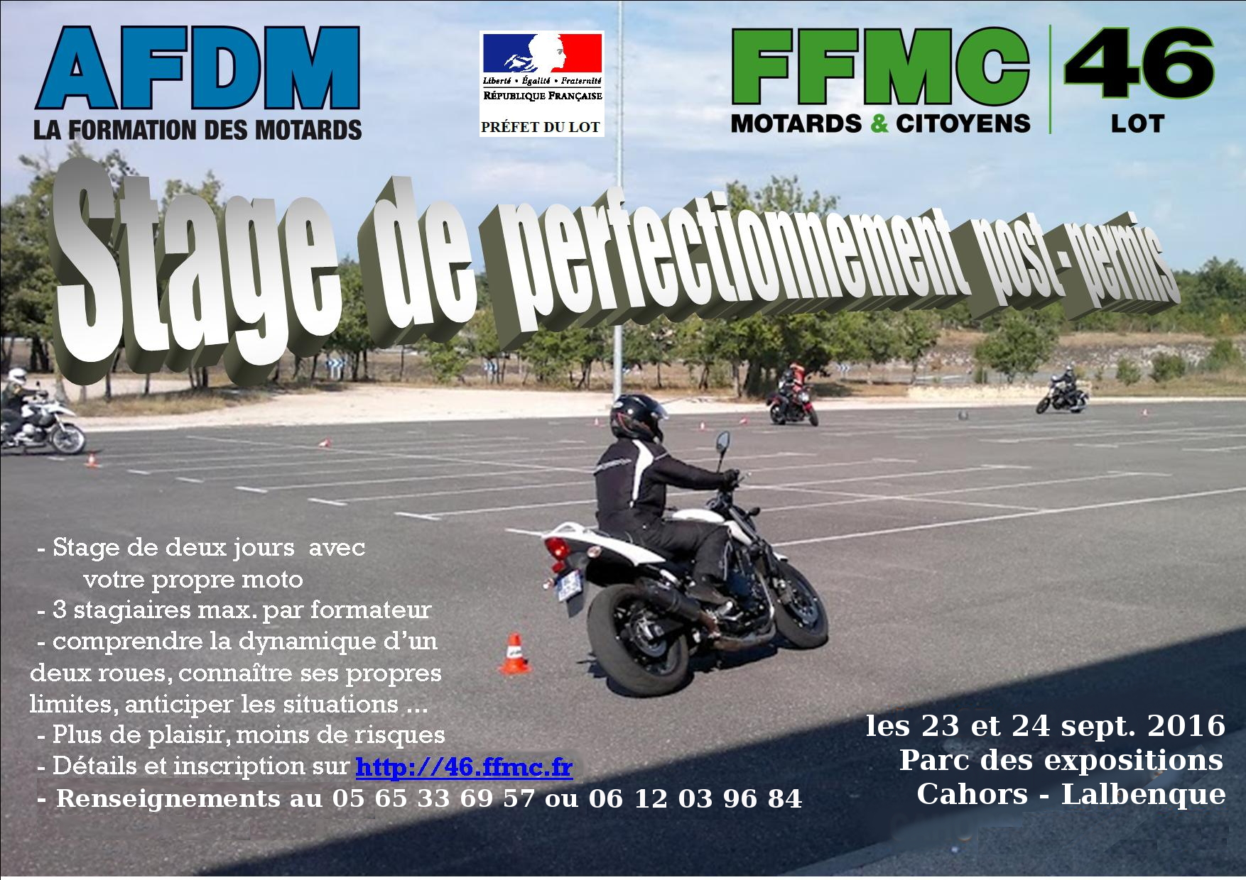 Affiche stage afdm jld