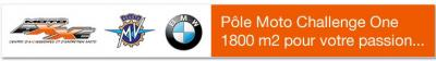 Pole moto challenge one